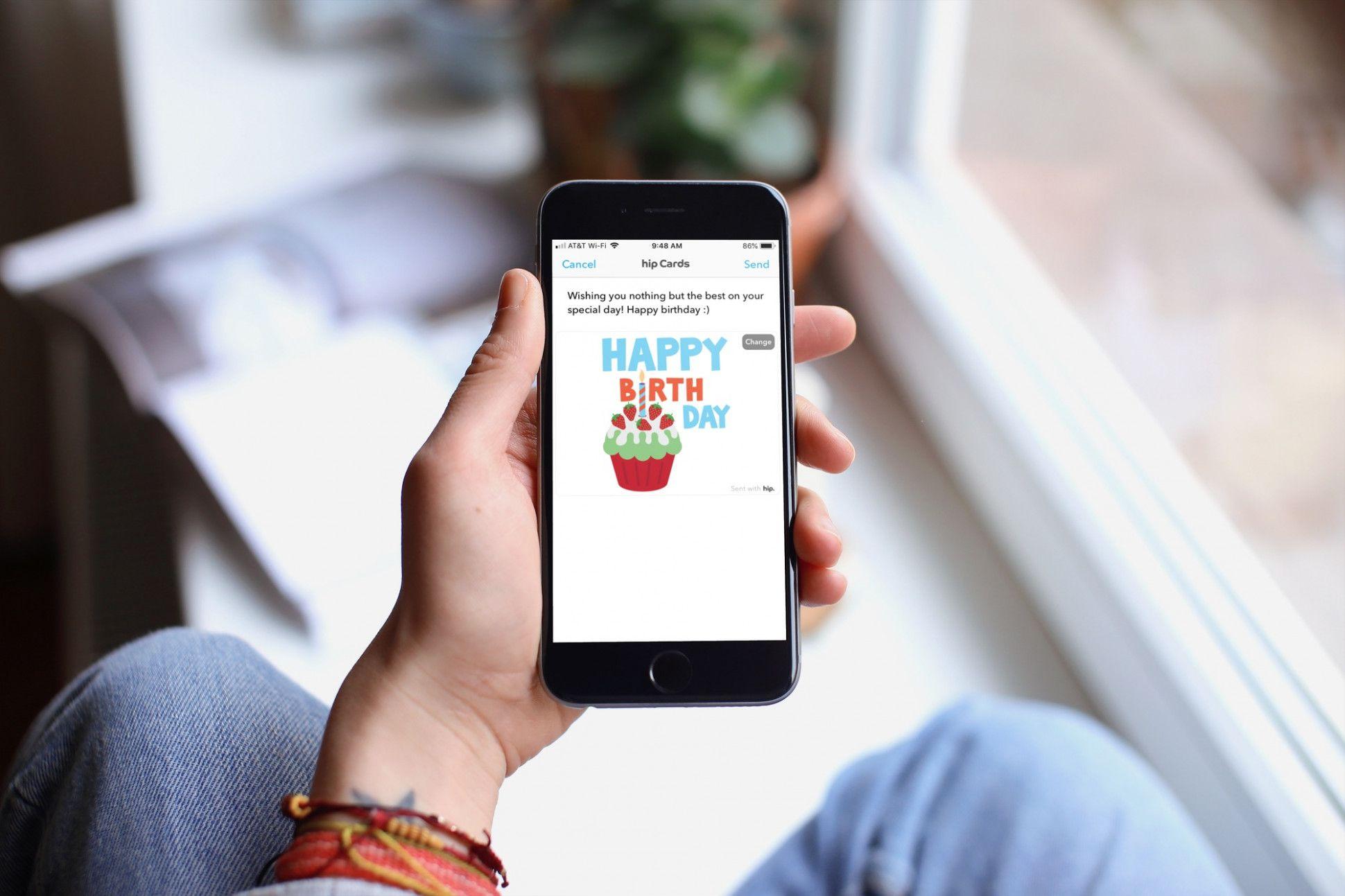 16 Creative Happy Birthday Card App Di 2020