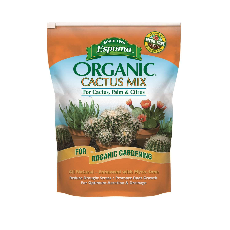 Espoma organic cacti citrus and palm potting mix 8 qt