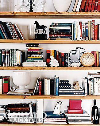 Ideas para tus librerías y estanterías I Librerias Pinterest