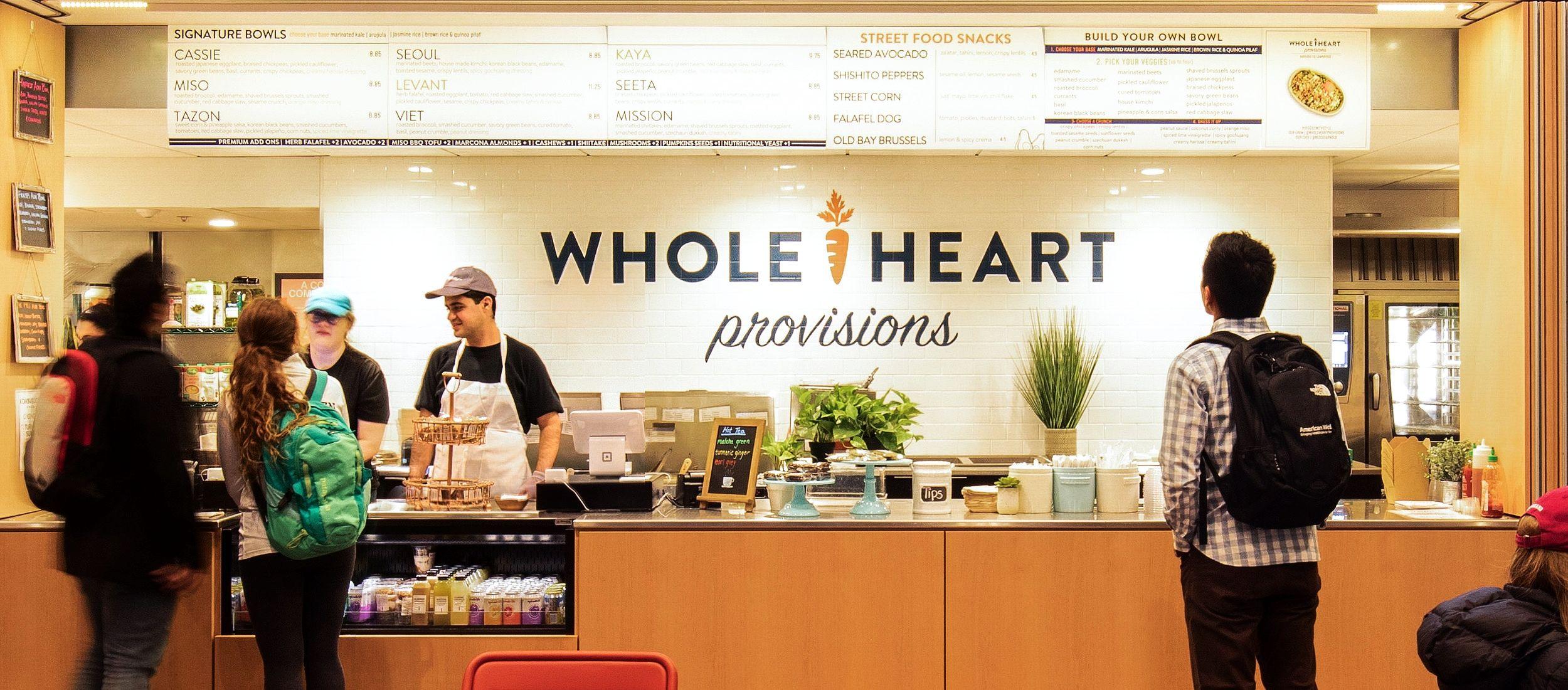 Harvard square whole heart provisions harvard square