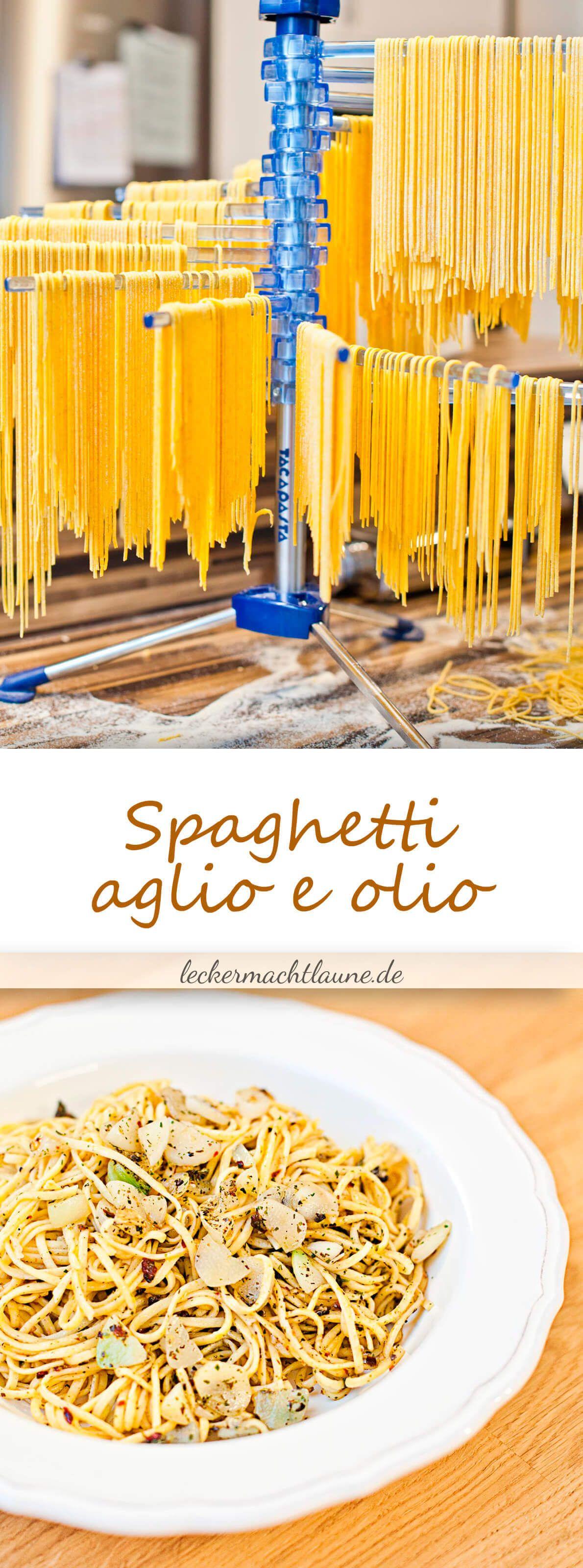 hausgemachte spaghetti aglio e olio lieblingsessen goldener blogger herbst pinterest. Black Bedroom Furniture Sets. Home Design Ideas