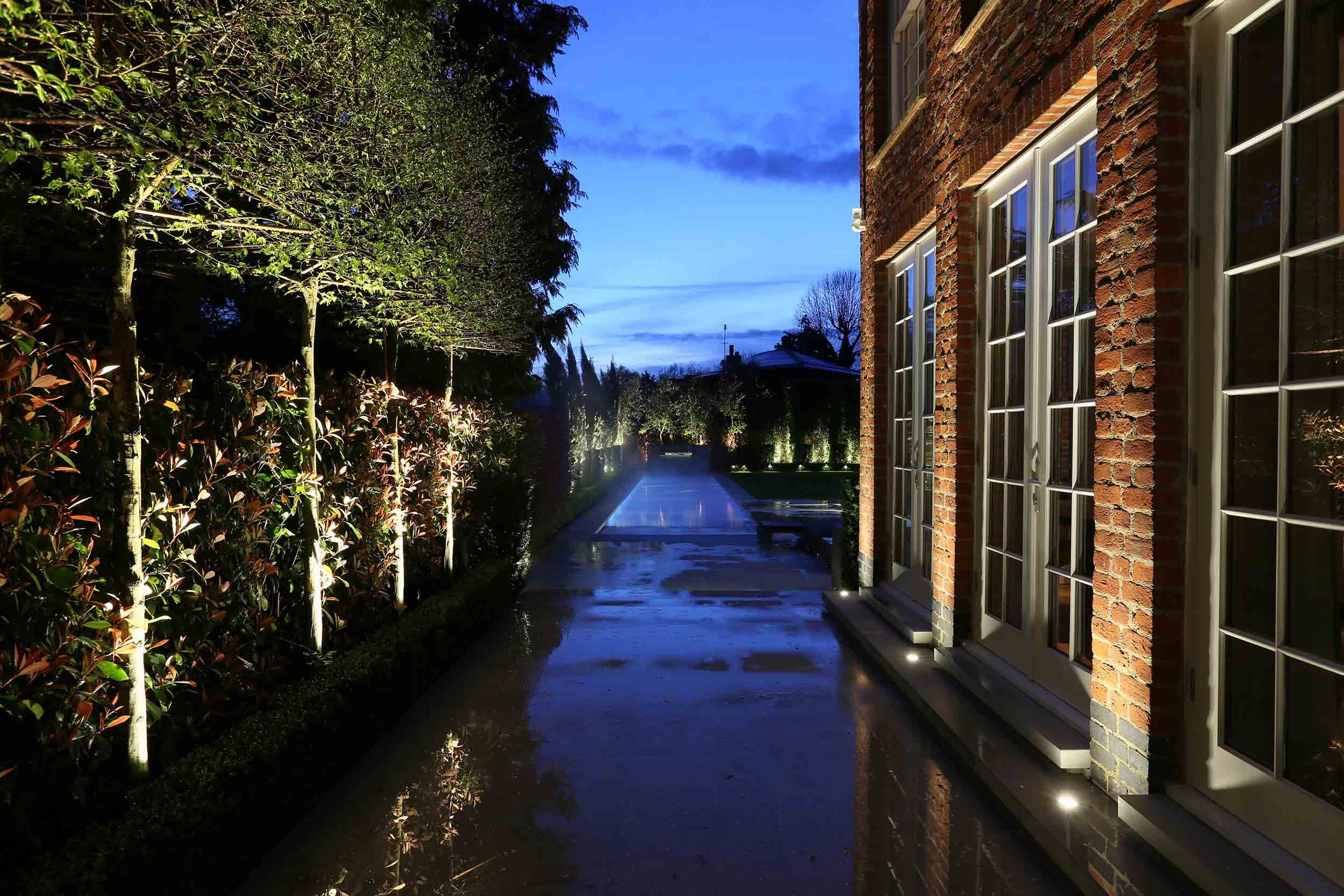 Designer Lighting Makes London Garden Glow