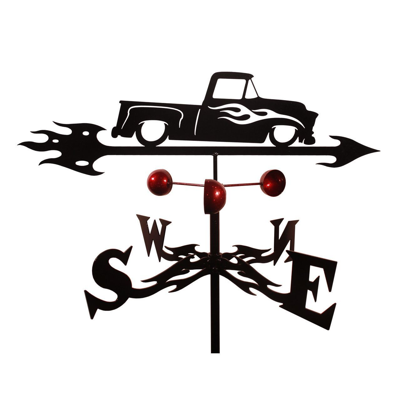 Handmade Chevy Truck Auto Car Steel Weathervane Roof