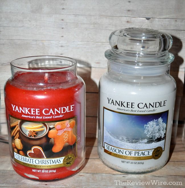 Yankee Candle Winter Candle Fragrances