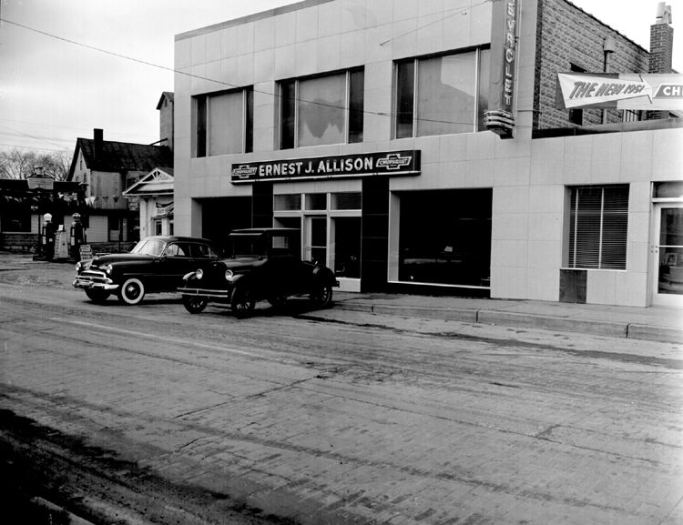 Vintage Shots From Days Gone By Chevrolet Dealership