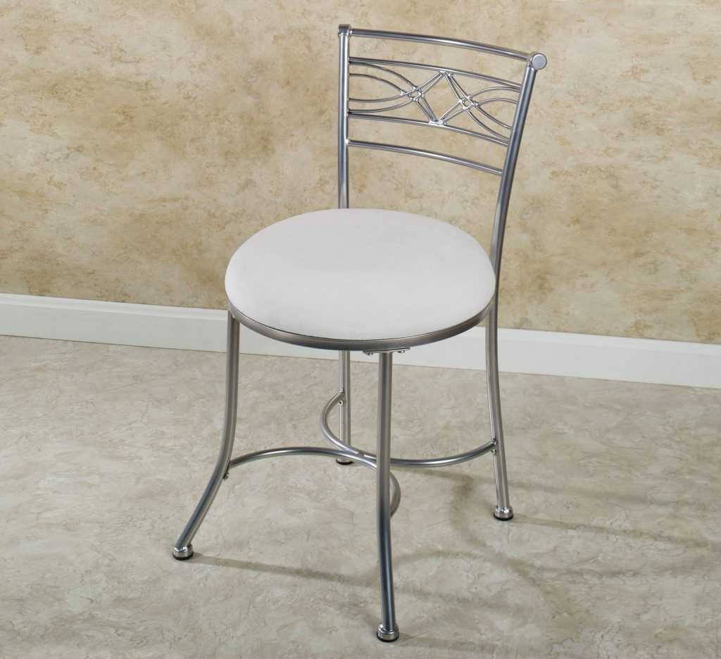 Bathroom vanity stool elegant vanity chairs touch of class
