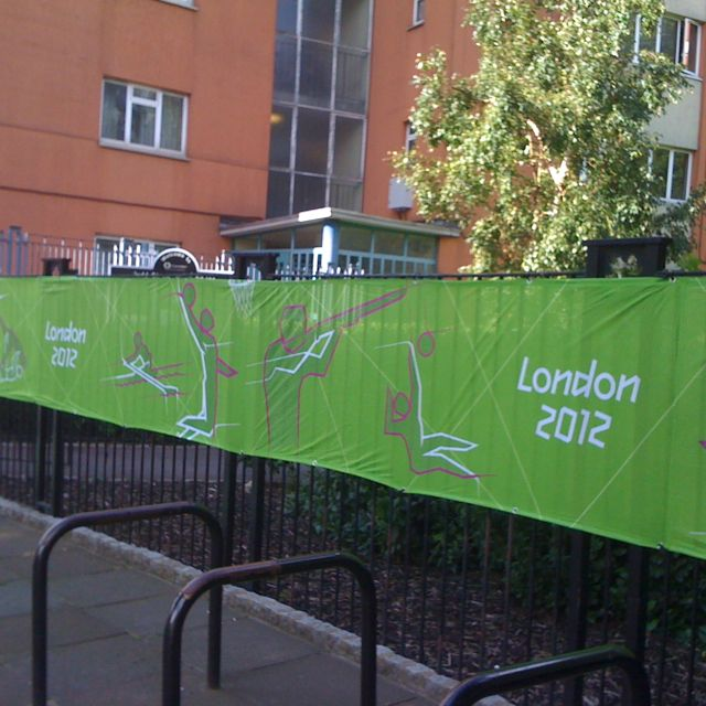 More Olympic pictograms in London