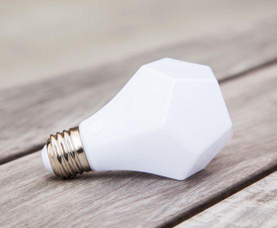 Nanoleaf S Gem Led Light Bulb Shines Like A Glimmering Jewel Bombillas Disenos De Unas Y Industrial