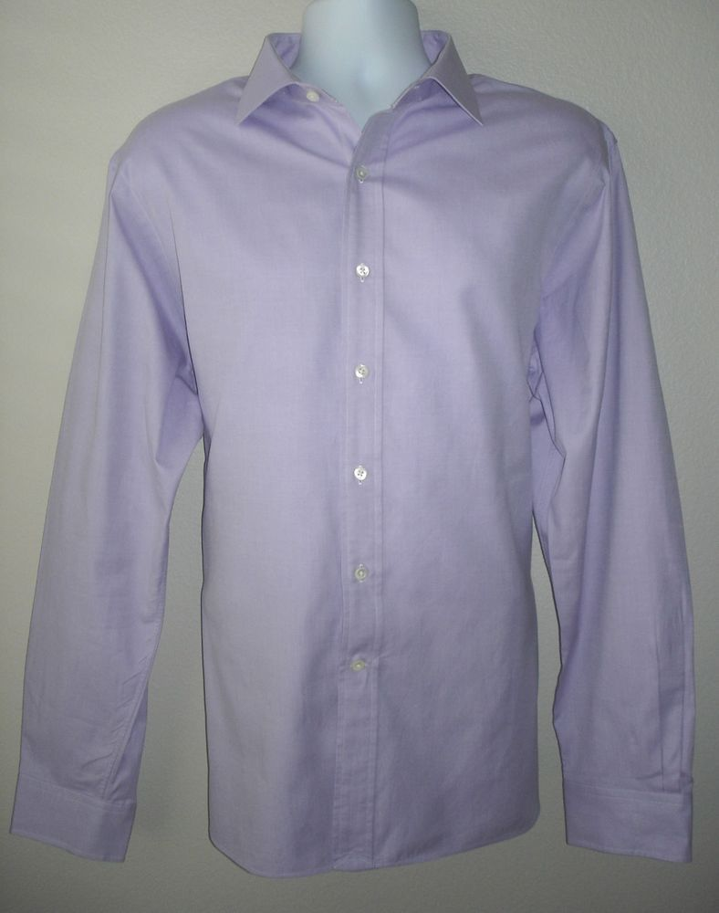 Polo Ralph Lauren Regent Mens Dress Shirt With Polo Logo 17 12 44