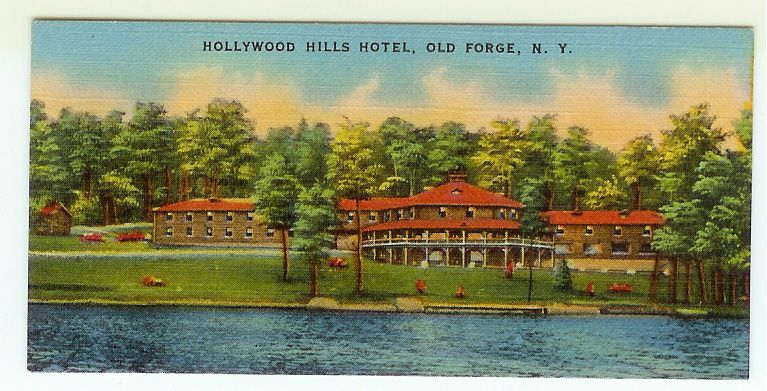 Vintage Hollywood Hills Motel Old Forge Ny