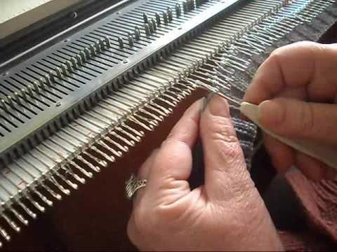 вязание на машине бразер