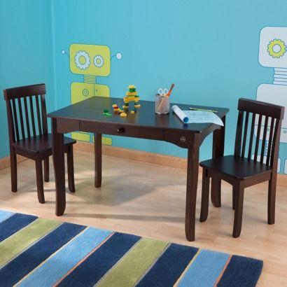 Kidkraft Avalon Table and Chair Set - Espresso - target $189 & Kidkraft Avalon Table and Chair Set - Espresso - target $189 | Kiddo ...