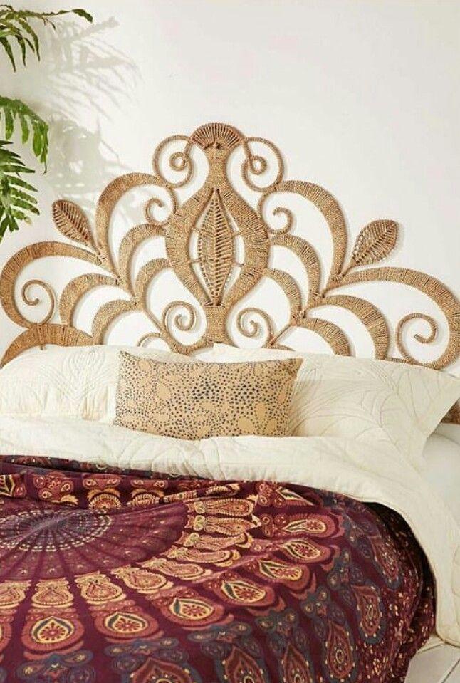 Cabeceira artesanal | Bed - Single. Double. Queen. King | Pinterest ...