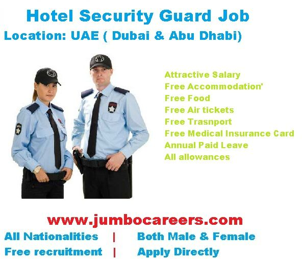 Hotel Security Jobs In Dubai December 2017 Hotel Security Job