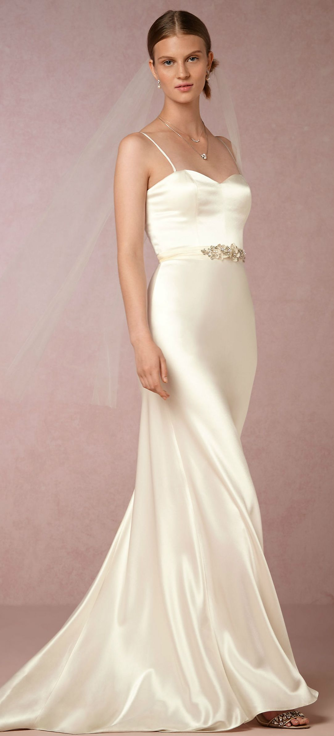 New wedding dresses for 2017   Sleek wedding dress from Catherine ...