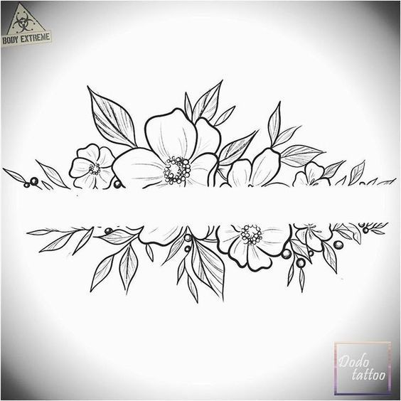 200 photos of female tattoos – photos and tattoos #flowertattoos …  #tattoofeminin - tattoo feminina
