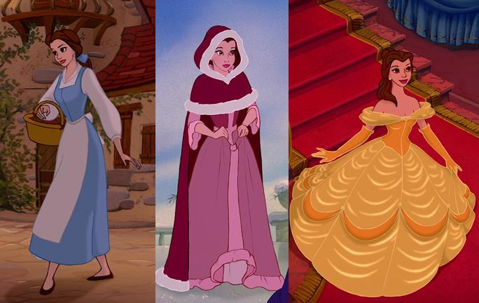 Disney Princess Belle Jurk Maat M 5 6 Jaar