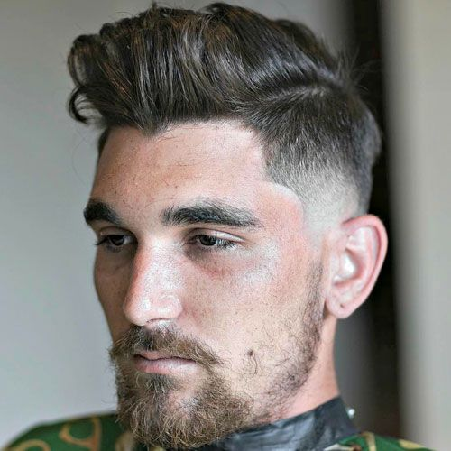 27 Cool Short Sides Long Top Haircuts For Men 2020 Guide Short Hair With Beard Short Hair Styles Mens Hairstyles