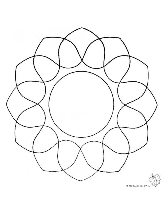 Disegno Mandala 5 Disegni Da Colorare E Stampare Gratis Per
