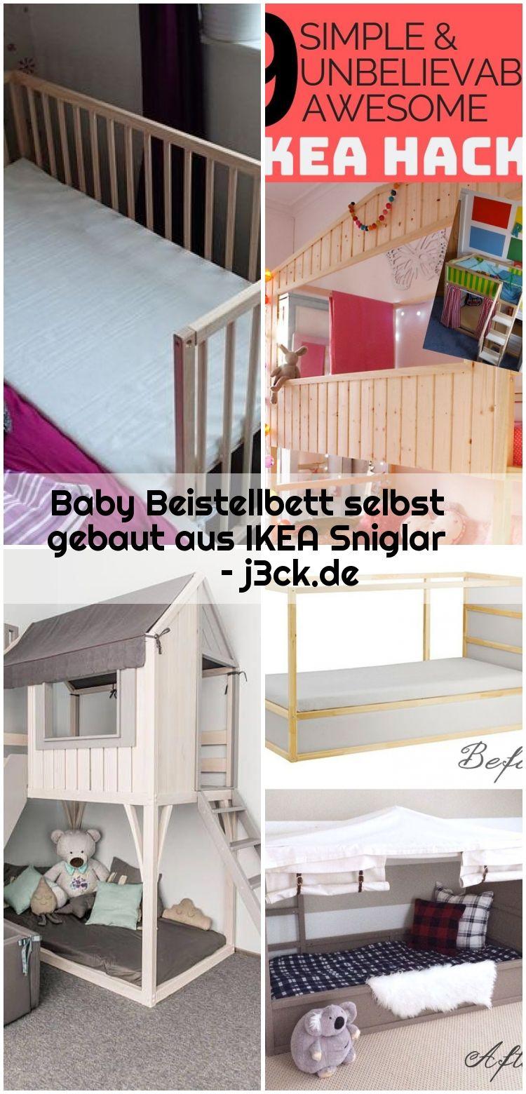 Baby Beistellbett Selbst Gebaut Aus Ikea Sniglar J3ck De Beistellbett Baby Beistellbett Ikea Babybett