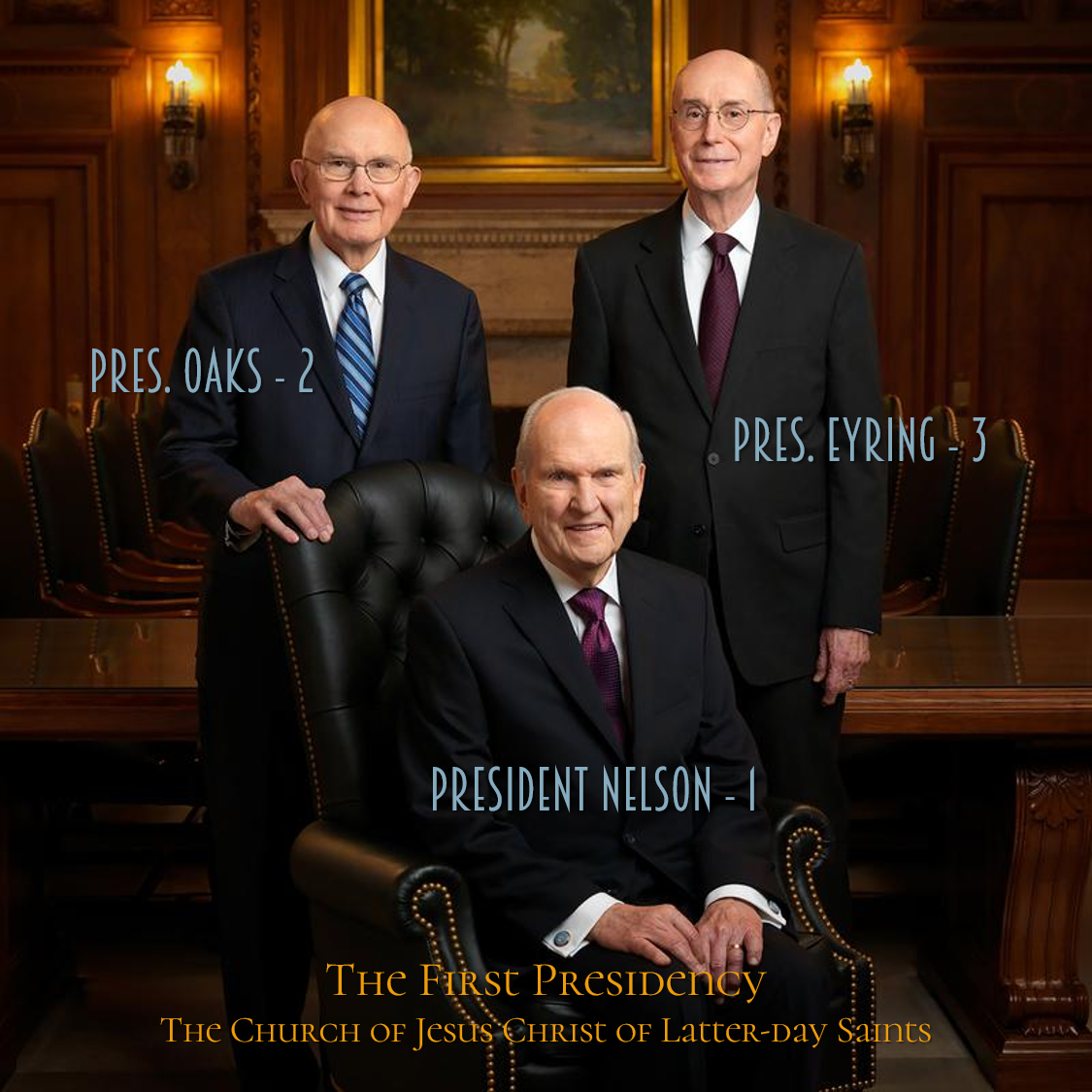 The First Presidency Of The Church Of Jesus Christ Of