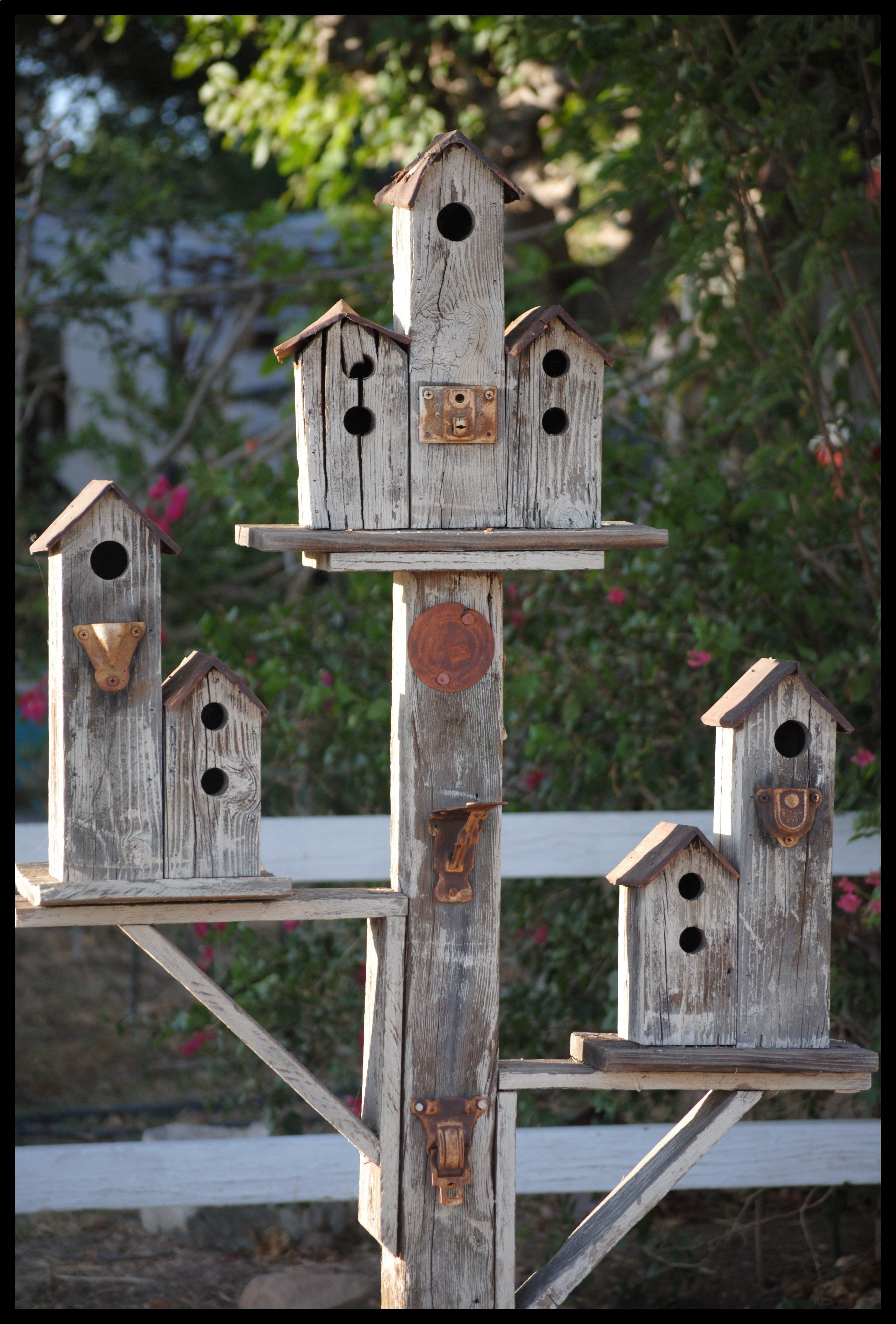 Birdhouses my husband made for our yard #1 | Beautiful ...