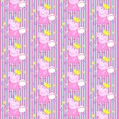Peppa Pig fabric!