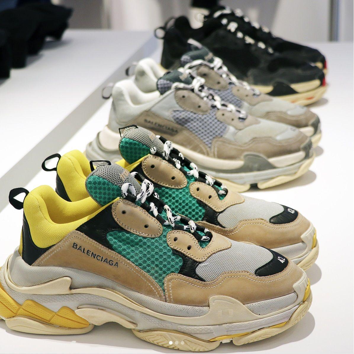 Moda sneakers, Sapatos balenciaga