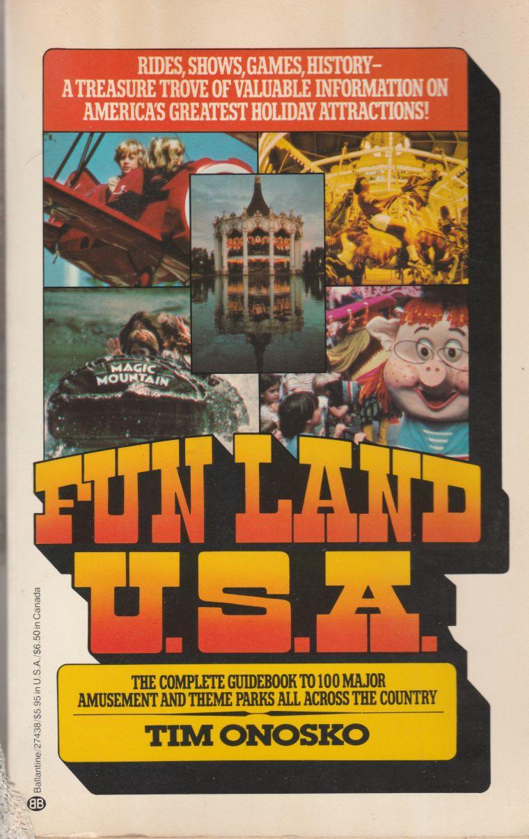 Funland USA Theme park, Comic book cover, History