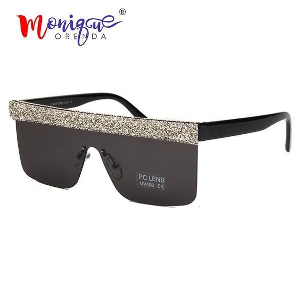 e3b18eae125 Monique Orenda Oversized Sunglasses Men Women Big 2913  Discounts  BestPrice