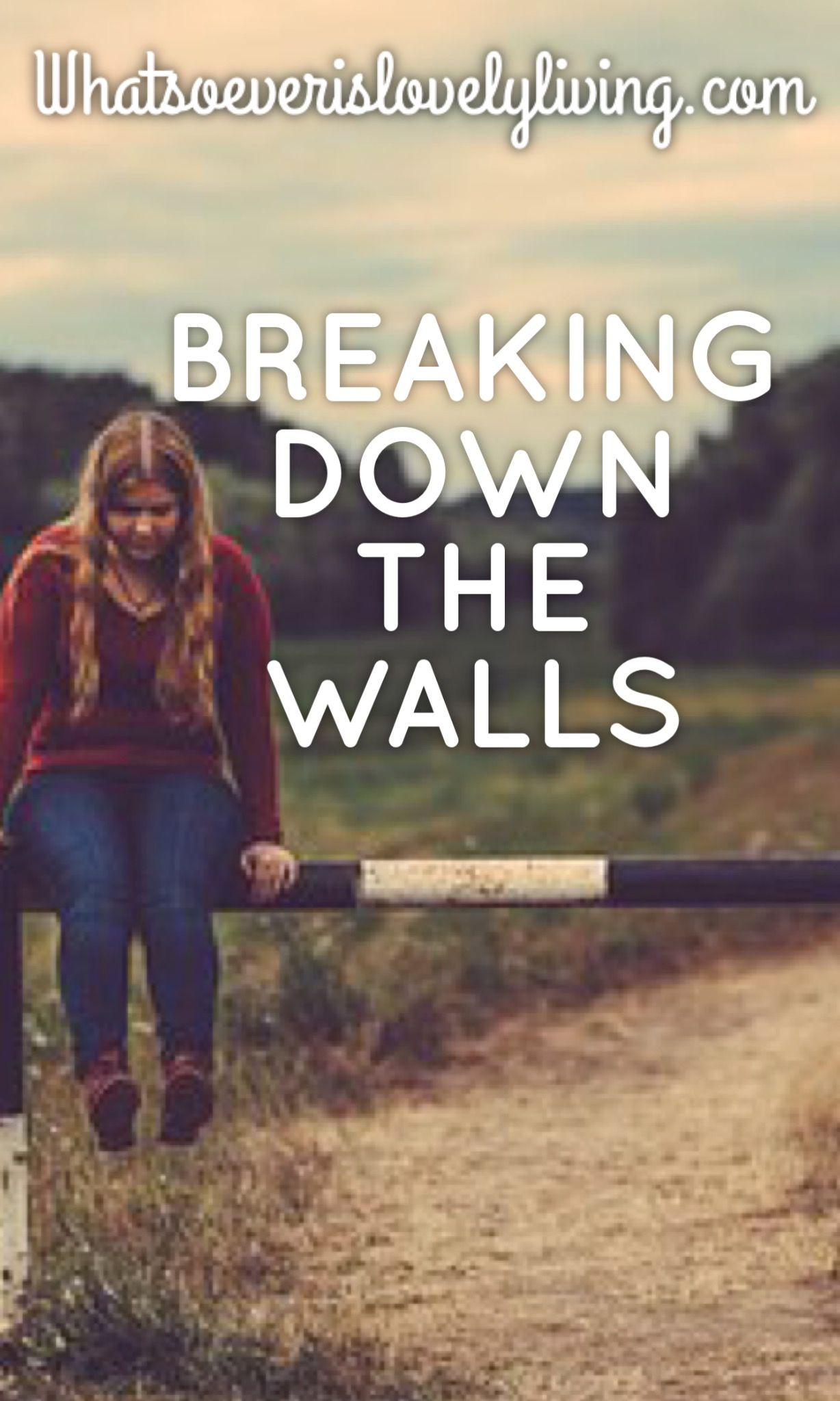 Bravely Be You: Breaking Down the Walls