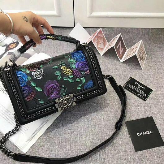 6f341134b56f Wholesale Chanel Shoulder 67086 bag designer coco bag Black leather ...