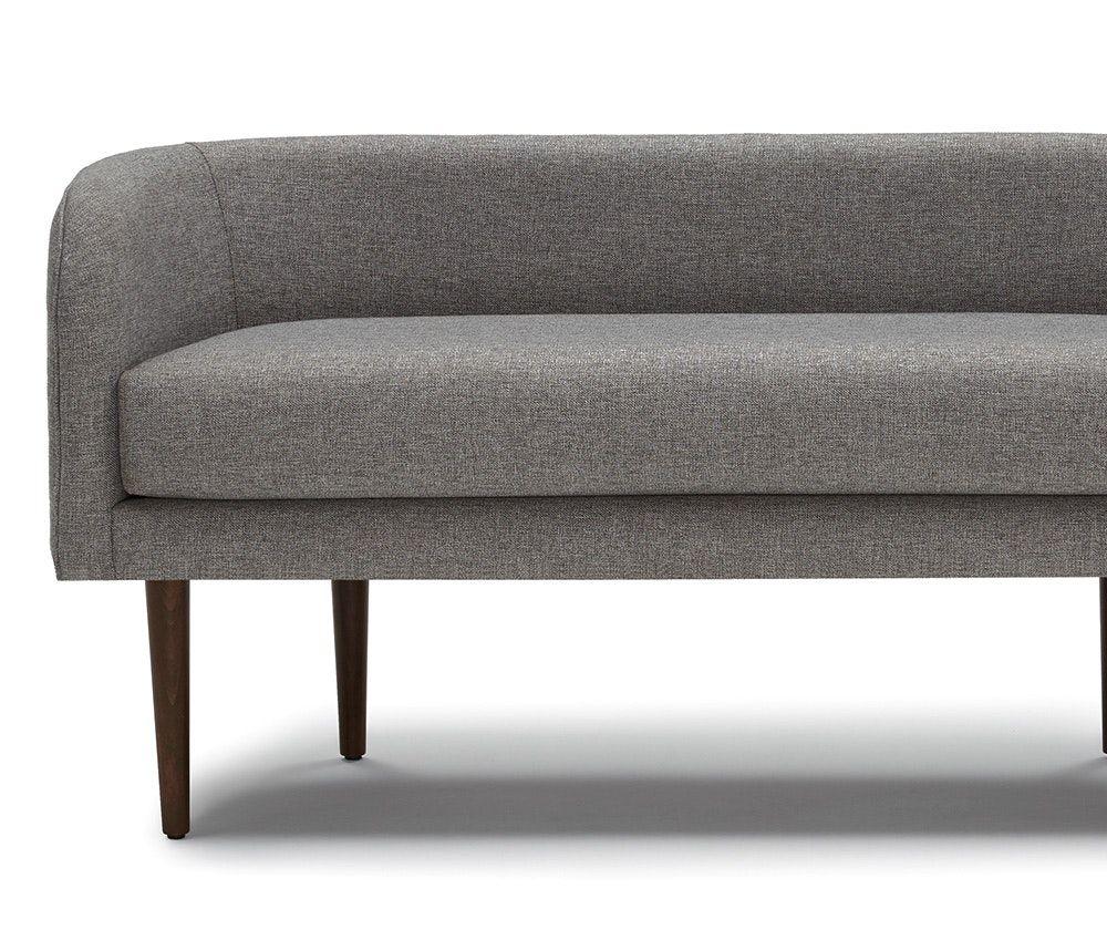 Tremendous Verken Mid Century Modern Faux Leather Bench Black Project Inzonedesignstudio Interior Chair Design Inzonedesignstudiocom