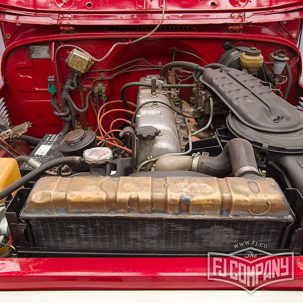 Before Restoration 1983 Toyota Land Cruiser FJ43 Red #fjco1983freebornred #fj43 #fj40 #fj43forsale #fjcompany