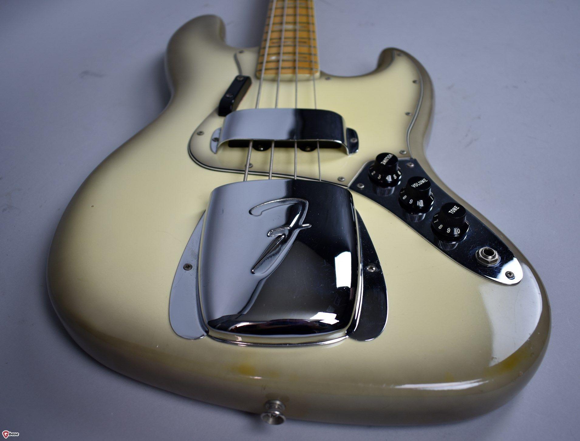 1978 Fender Jazz Bass Vintage American Antigua Finish Electric Guitar W Antigua Guitars Bass Imperial Vintage Guitars Guitar Fender Jazz Bass Fender Jazz