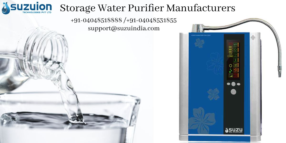 Suzuiontechnologiespvtltd Being The Most Resourceful Storagewaterpurifiermanufacturers In Hyderabad India More Infor Water Purifier Purifier Drinking Water