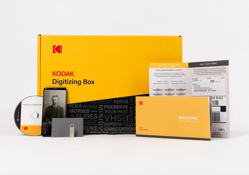 10pc KODAK Digitizing Box Kodak, Water proof case