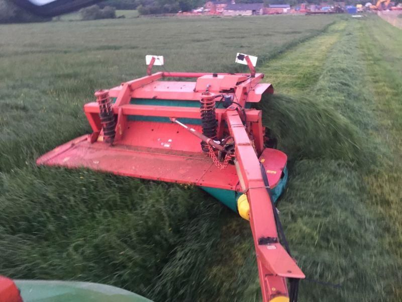 Taarup 338 Mower Conditioner With Grouper Excellent Working