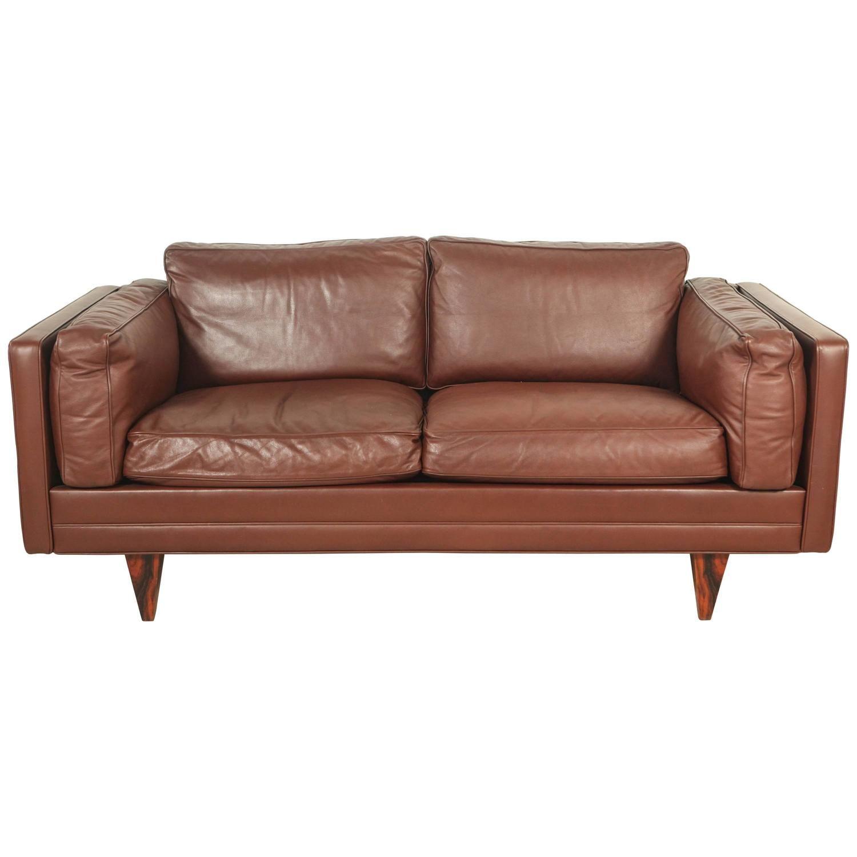 Illum Wikkelsø Style Two Seater Sofa