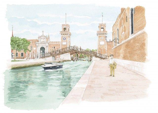 Louis Vuitton Travel Book Venise 2014 Illustre Par Jiro Taniguchi