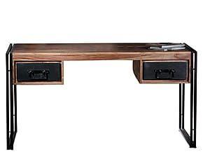 Scrivania Ufficio Industriale : Scrivania per ufficio olaf cm in legno e metallo color