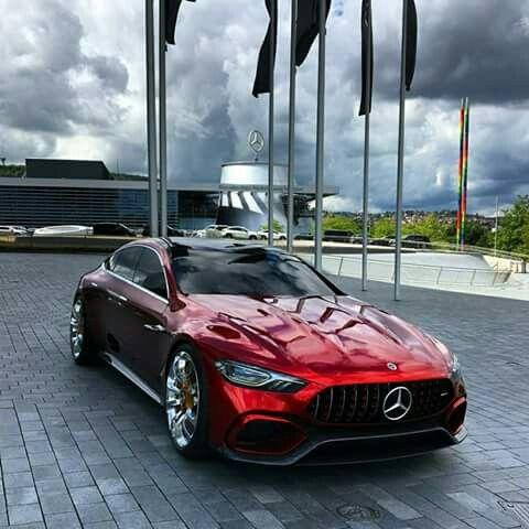 Mercedes Benz Amg Gt Sedan Concept 0 100km H 2 8sec Mercedes