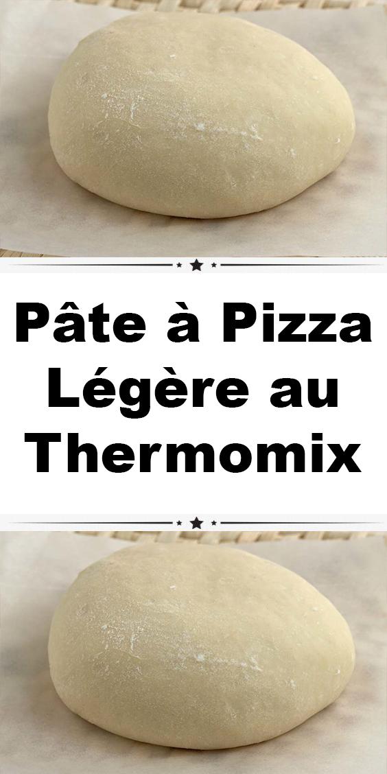 Pâte à Pizza Légère au Thermomix