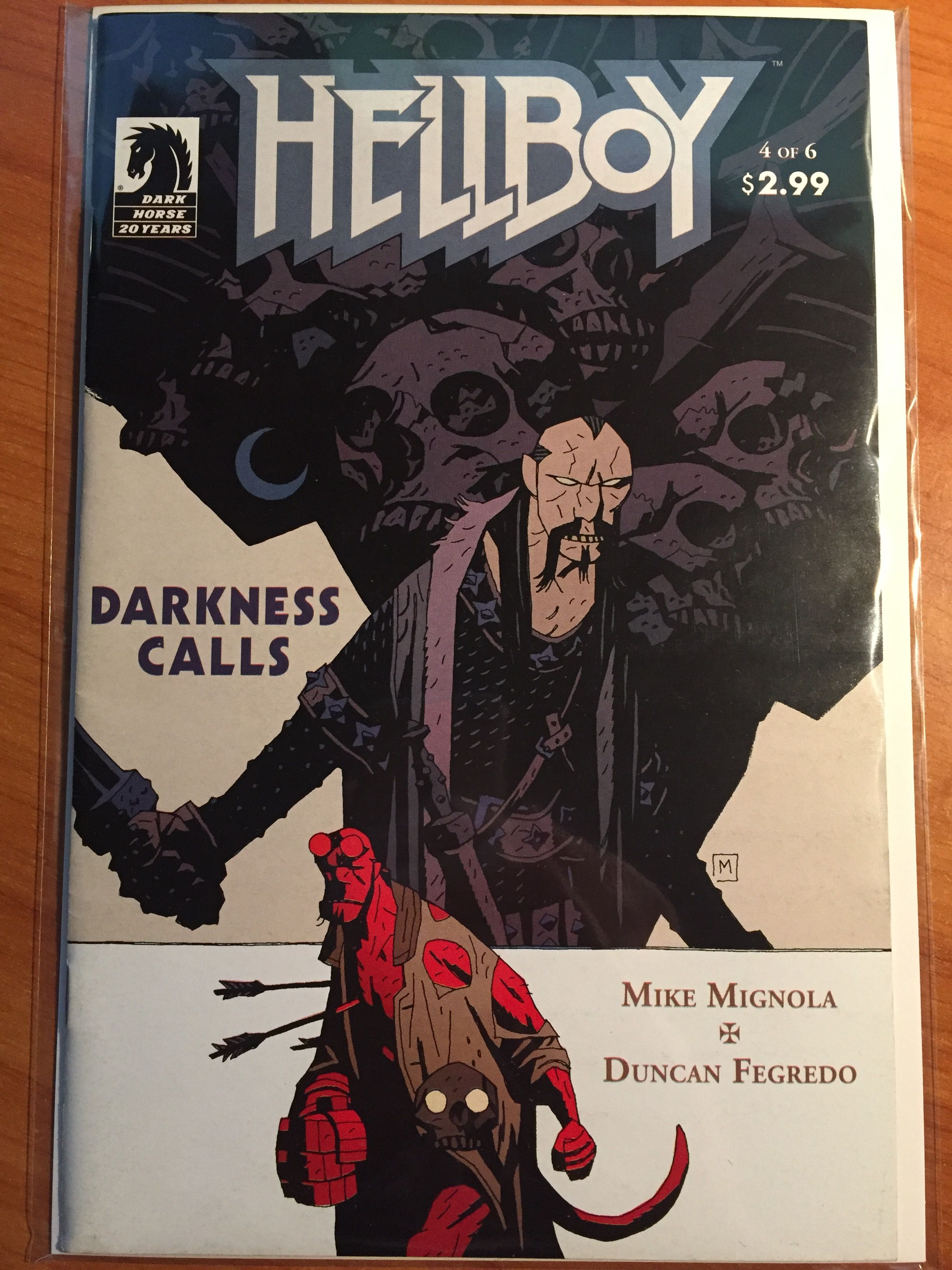 Hellboy Darkness Calls #4 -  July 2007 - Dark Horse