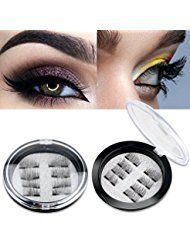 59177587b0f Description: Your eyelash search will end with these premium quality dual  magnetic false eyelashes.