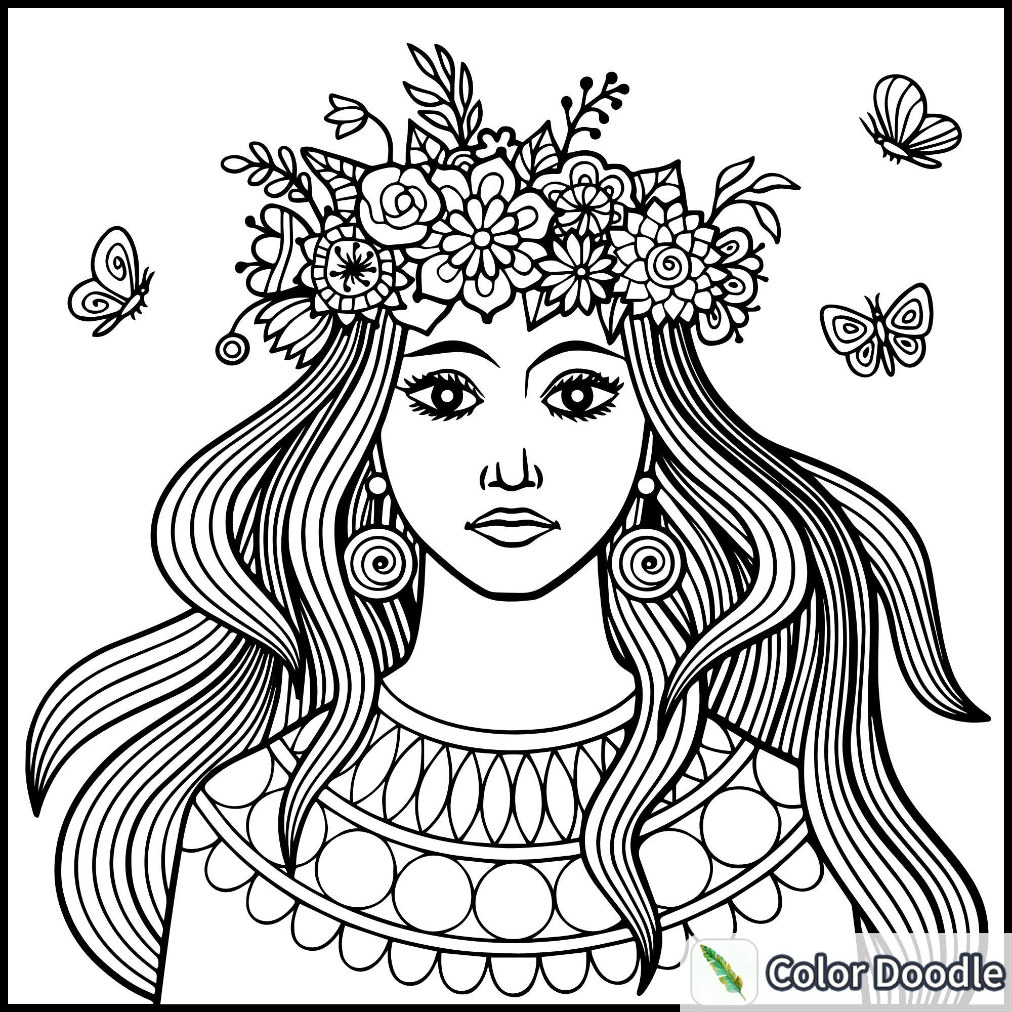 Pin de Loreto Vargas en PINTAR   Pinterest   Rostro mujer, Pintar y ...