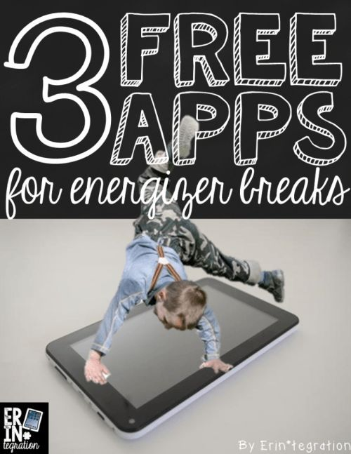 3 free iPad apps to use for energizer breaks in the classroom