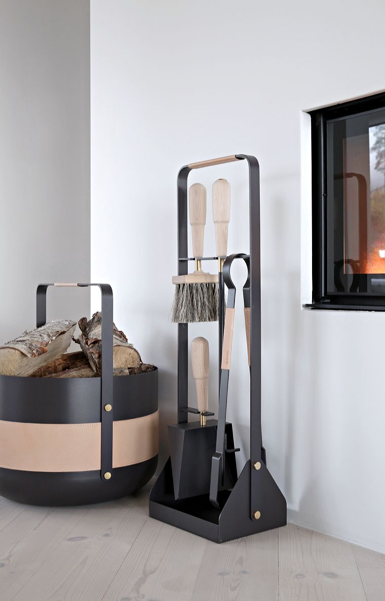 The Perfect Fireplace Accessories Eldvarm Modern Fireplace Tools Fireplace Tool Set Fireplace Tools