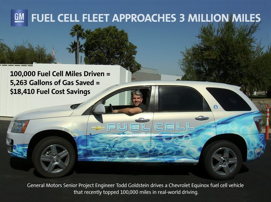 The Gm S Fuel Cell Equinox Leads With 100 000 Miles Real World