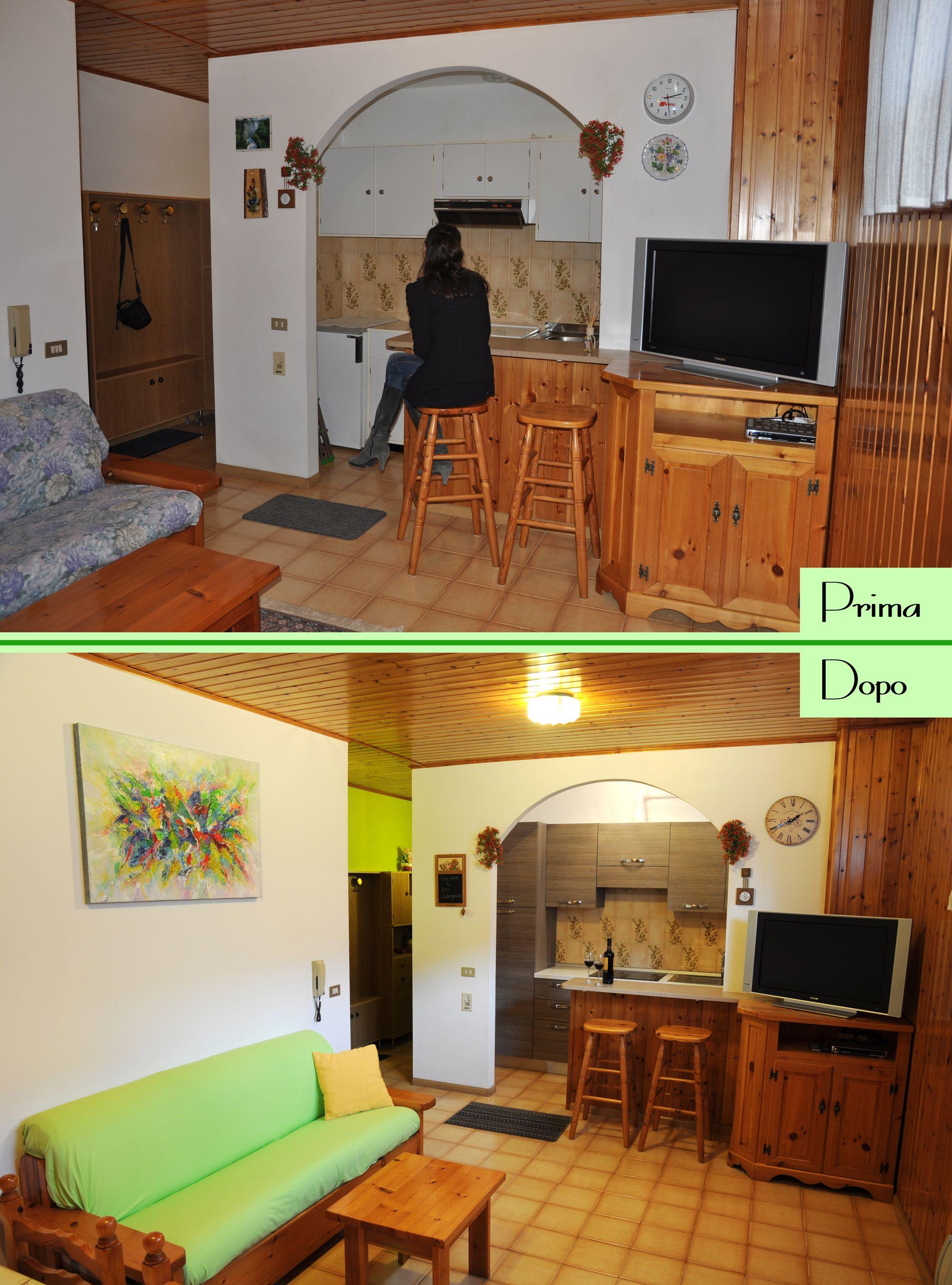 ristrutturare una cucina - prima e dopo - come può cambiare una casa ...